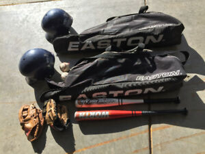 Kids baseball gear