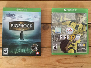 *XBOX ONE: FIFA 17- BIOSHOCK THE COLLECTION - NEUFS