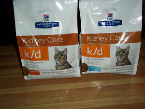 For sale HILLS DRY &WET CAT FOOD (for Kindey DISEASE )