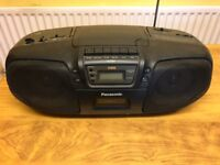 Panasonic portable CD, radio & cassette