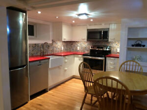 Executive basement apartment in the Glebe - weekly
