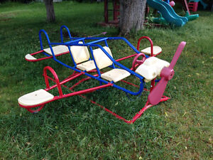 Seven Seater Airplane Teeter Totter