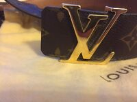 Louis Vuitton men's belt 38 inch waist
