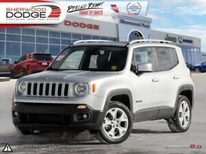 2017 Jeep Renegade Limited  NAV | HEATED LEATHER | BACK CAM