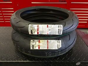 ★★★ NEW Dunlop Q3 Motorcycle Tires 190 / 120 Set - CHEAP ★★★