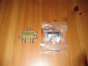 2 way splitter (cable) - 2 articles