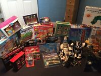 A selection of toys and board games most are un opened and new. Collection only