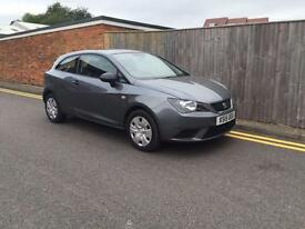 Seat Ibiza S 1.2 12v (70ps) (a/c) Sport Coupe 2015 Only 23,000 Miles VAT Q