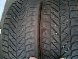 four goodyear ultragrip ice 205/55r16  5 bolt x 114.3 rim truro