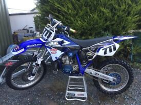 Yamaha yz 250 2 stroke like new