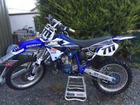 Yamaha yz 250 2 stroke like new