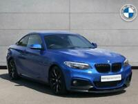 2014 BMW 2 Series 220d M Sport Coupe Coupe Diesel Manual