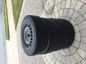 195/65R15 Michelin X-Ice Winter tires and rims for sale