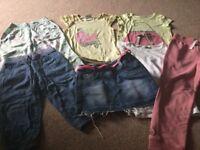 Bundle girls clothes age 7-8