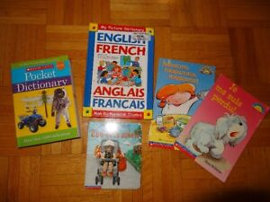 5 French Books and Dictionaries for Children