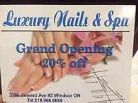 20% OFF Luxury Nails and Spa