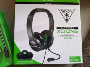 Xbox One Turtle Beach Adapter and Mic