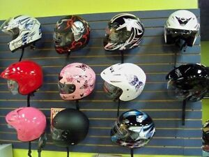 SPECIAL CASQUE FULL FACE D.O.T. VTT MOTO SCOOTER $59.99!!