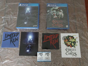 NEW Curses N' Chaos and The Swapper for  PS4 (Limited Run Games)