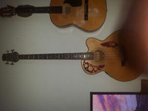 Jasmine acoustic/electric bass guitar