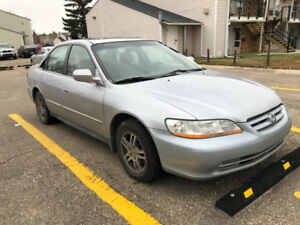 2002 Honda Accord V6 Limited Edition