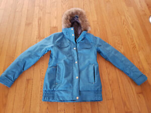 Gently used winter coat. Rarely used. Smoke free home.