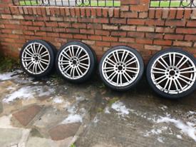17 inch Multifit Alloy wheels
