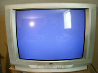 """JVC 27"""" D series TV with 2 working remotes!!!"""