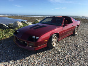 1988 Camaro IROC Z Trade for Land in Ponhook area