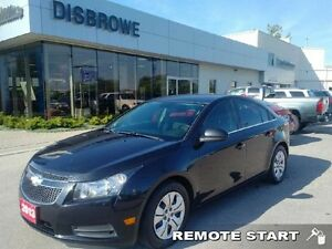 2013 Chevrolet Cruze LT Turbo   Remote Start, Backup Camera, USB