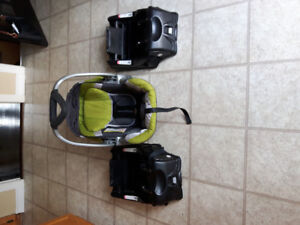 Infant carrier and bases