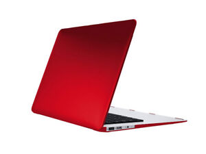 Versifli Macbook Pro 15in Shell Case (A1398) RED&BLACK- CLEARANC