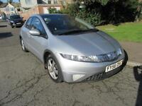 2006 HONDA CIVIC 2.2I-CTDI ES MANUAL DIESEL 5 DR HATCHBACK