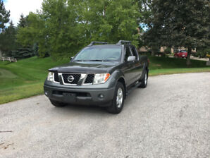 2007 Nissan Frontier LE 4X4. One Owner, No Accidents, Certified