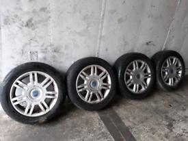 """FIAT STILO 16"""" ALLOYS - 4X98 - FIAT PUNTO / BRAVO / FIAT COUPE etc"""