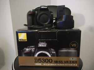 Nikon D5300 DSLR with Built-in Wi-Fi (Body Only)