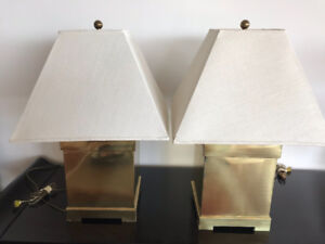 Pair of attractive Brass lamps