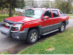 2002 Chevrolet Avalanche Full Equiped Camionnette