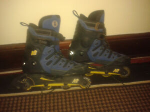 K2 PRO ROLLERBLADES, SIZE 12,5, A1 COND, CALL #519 915 3808