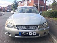 2002 Lexus IS200 4 Door Saloon ++12 MONTHS MOT++81000 MILES++