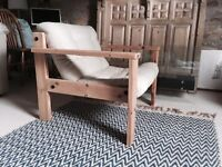 Mid-Century Armchair / Chair Retro Danish