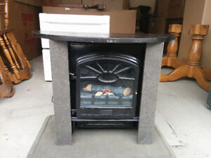 500 sq Ft Infrared Heater w/ Custom Granite shroud and Table top
