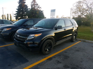 2014 ford explorer police pack AWD