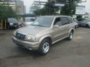 2002 Suzuki XL7  SUV 4×4 SAFETY + 1 YEAR WARRANTY ALL IN ONE