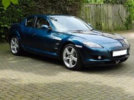 Mazda RX-8 1.3 Evolve, 2006, Blue, 6 Month AA Warrant, 1 Years Mot