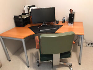 Office furniture and equipment. Multiple items
