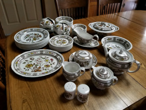 8 Place Setting of Dishes + Extras