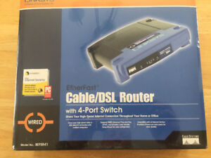 Router Linksys 4 Port