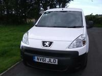 Peugeot Partner NO VAT FSH CL Side Door EW One Owner Bennett Van Sales Ormskirk