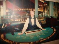 CROUPIÈRE PROFESSIONNELLE - Poker - Black Jack - Roulette